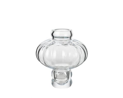 Louise Roe - Balloon Vase #2 - Clear