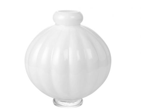 Louise Roe - Balloon Vase #1 - Opal White