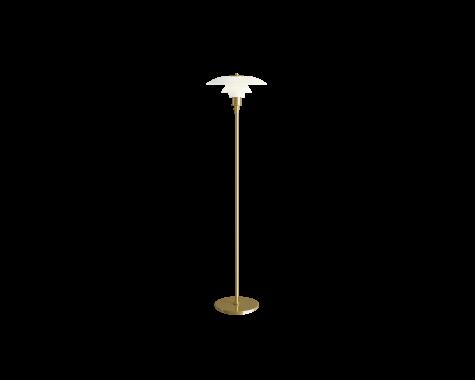 Louis Poulsen - PH 3½-2½ - gulvlampe - Messing