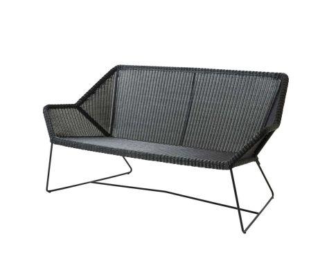 Breeze loungesofa i sort