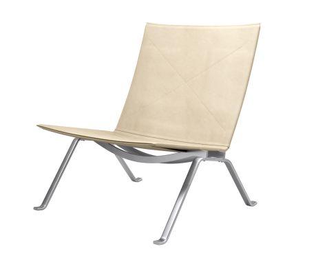 Fritz Hansen - PK22™ stol - Royal Nubuck Ruskind - 65 års Jubilæum