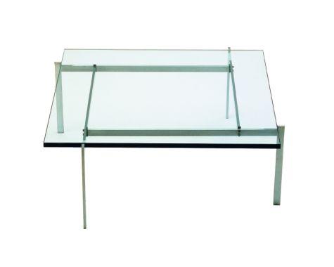 FRITZ HANSEN - PK61 - SOFABORD MED GLAS