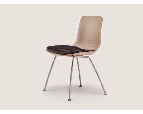 Naver Collection - Tulip stol m. sæde