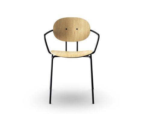 Sibast - Piet Hein stolen - Spisebordsstol m. armlæn
