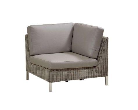 Cane-line - Connect sofa hjørne inkl. hynder