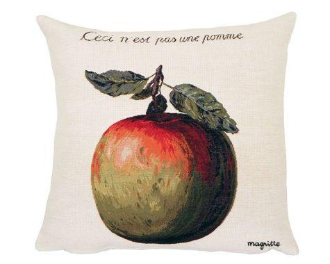 Poulin Design - Magritte - Ceci n´est pas une pomme - pude