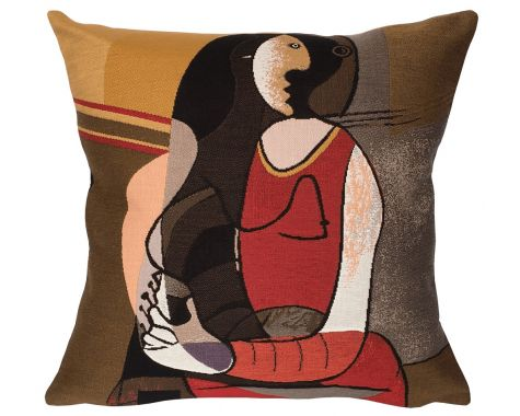 Poulin Design - Picasso - 'Femme Assise' - pude
