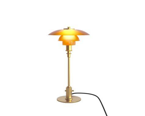 Louis Poulsen - PH 2/1 - Bordlampe - Ravfarvet