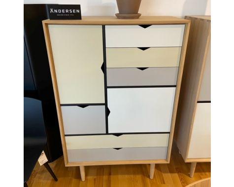 DEMO: Andersen Furniture - S5 opbevaringsmøbel - Sæbebehandlet eg