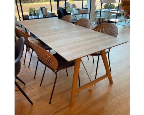 DEMO: Andersen Furniture - T7 Udtræksbord - Eg / Sæbe