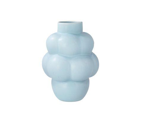Louise Roe - Balloon Vase #4 - Sky Blue, keramik