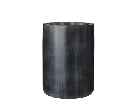 Louise Roe - Bella Vase - Black Marble