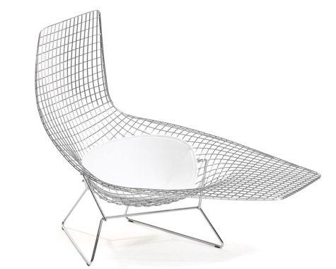 Knoll - Bertoia Asymmetric Chaise