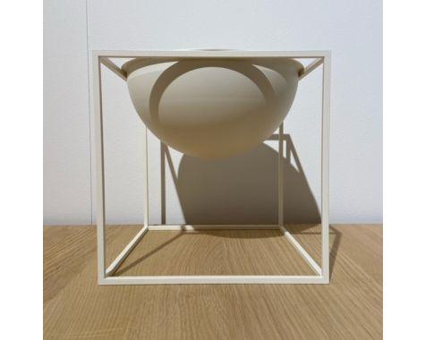 DEMO: By Lassen - Kubus Bowl stor - Hvid