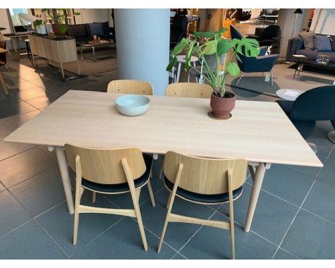 DEMO: Carl Hansen & Søn - CH327 - spisebord, bøg/sæbe