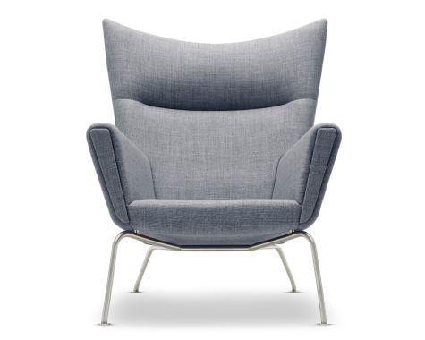 Carl Hansen & Søn - CH445 - Wing Chair - Fjord stof