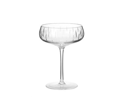 LOUISE ROE - CRYSTAL CHAMPAGNE COUPE