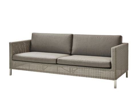 Cane-line - Connect 3 pers. sofa inkl. hynder