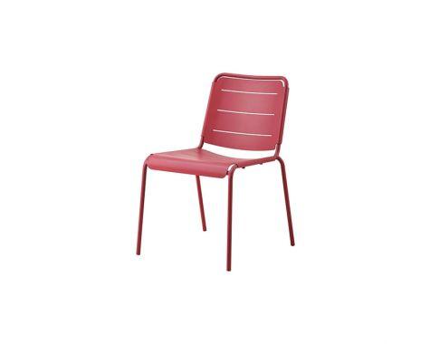 Copenhagen stol uden armlæn fra Cane-line - Marsala