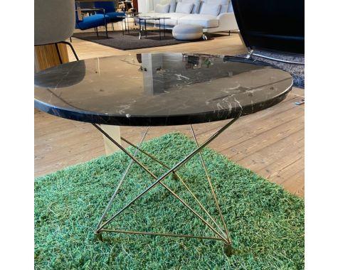 DEMO: Eilersen - Spider Sofabord - Brun Marmor