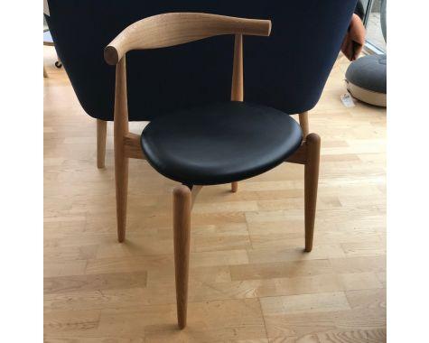 DEMO: Carl Hansen - CH20 Elbow Chair - Eg olie - 4 stk.