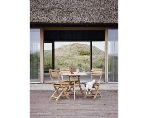 Skagerak - Vendia Havemøbelsæt, 1 bord og 3 stole