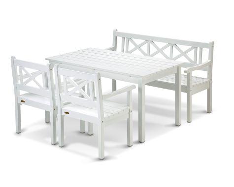 Skagerak - Skagen havemøbelsæt - Hvid
