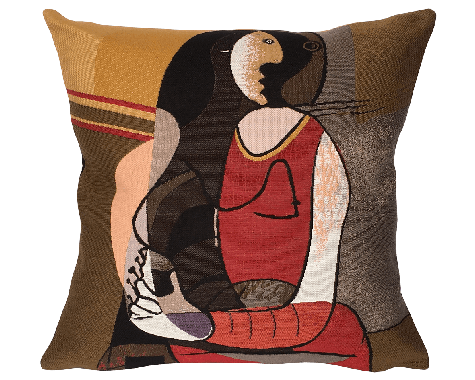 Poulin Design - Picasso - Femme Assise - Pude
