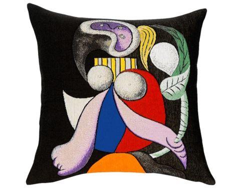Poulin Design - Picasso - Femme a la fleur - pude
