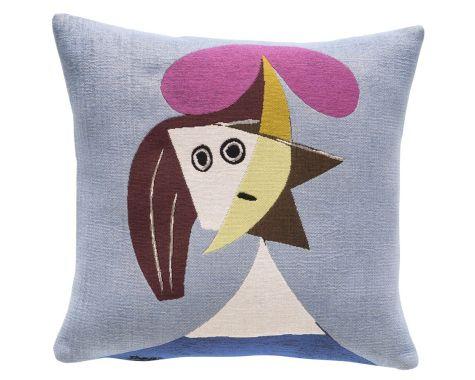 Poulin Design - Picasso - FEMME AU CHAPEAU - pude