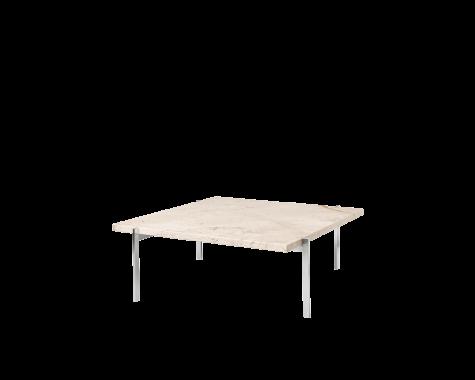 Fritz Hansen - PK61 - sofabord med beige marmor