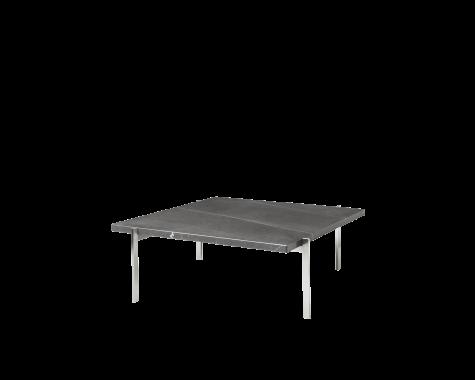 Fritz Hansen - PK61 - sofabord med sort petra marmor