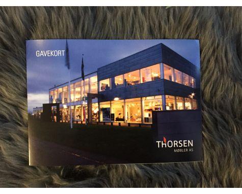 Thorsen Møbler - Gavekort - 1000