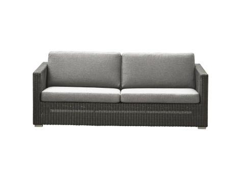 Chester lounge sofa fra Cane-line - Grå