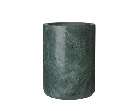 Louise Roe - Grace Vase - Green Marble