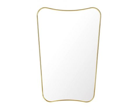 GUBI - F. A. 33 - BRASS WALL MIRROR, LILLE