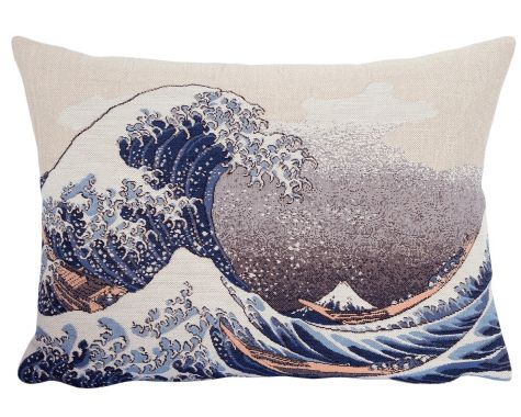 Poulin Design - Hokusai - 'La Vague' - pude