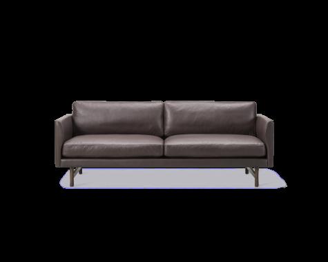 Fredericia Furniture - Calmo - 2 pers sofa, læder