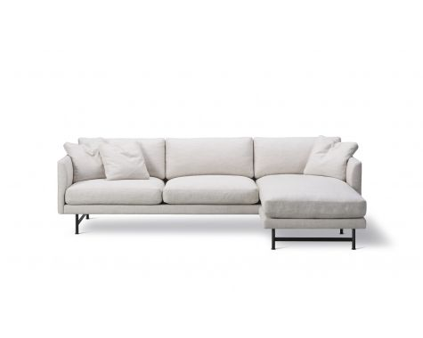 Fredericia Furniture - Calmo - 3 pers sofa med chaiselongue