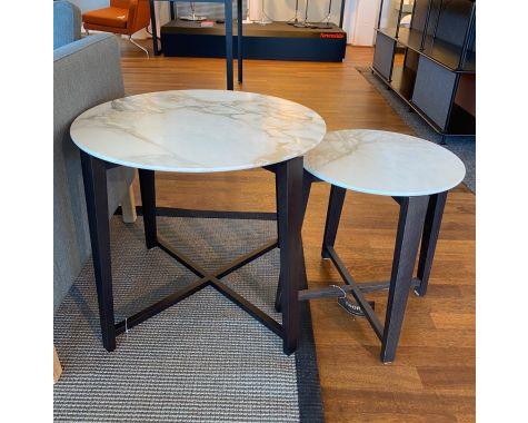 DEMO: Flexform - Tris marmor - 2 småborde