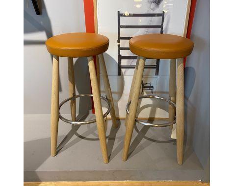 DEMO: Carl Hansen CH56 barstole 2 stk.