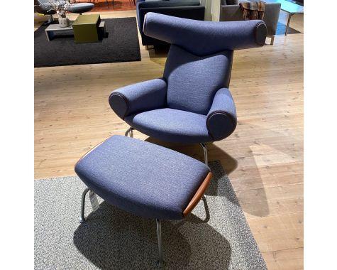 DEMO: Erik Jørgensen EJ-100 OX Chair + Skammel