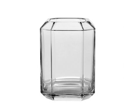 Louise Roe - Jewel Vase - Clear - Stor