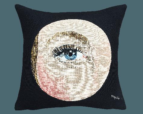 Poulin Design - Magritte - L'oeil - Pude