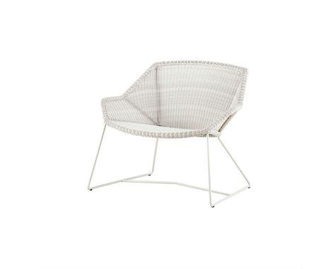 Breeze loungestol i grå