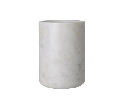 Louise Roe - Maya Vase - White Marble