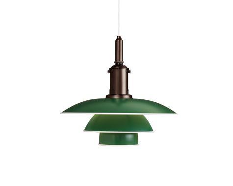 Louis Poulsen PH 3½-3 Pendel - Grøn