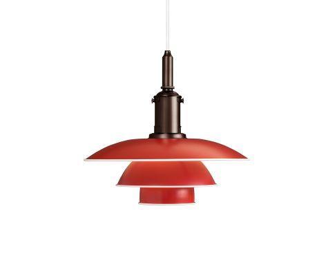 Louis Poulsen PH 3½-3 Pendel - Rød