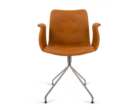 Bent Hansen - Primum Chair - drejestol med armlæn