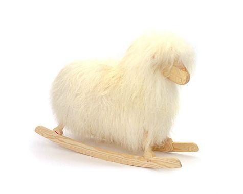 Rokkefår - Lang uld - Hvid